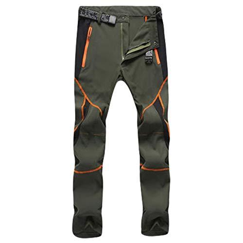 NUSGEAR 2021 Nuevo Pantalones para Hombre, Pantalones de Trekking Softshell Pantalones Impermeables Resistente Pantalones de Escalada Trabajo Pantalones Talla Grande Trabajo Pantalones Jogging Pants