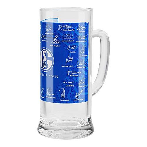FC Schalke 04 bierglas/bierpul ** Team 19/20 **