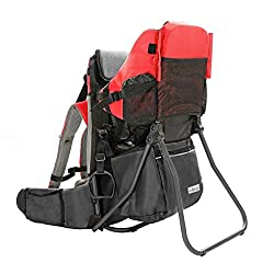 ed2e26ec260 Clevr-Baby Back Pack Cross Country Carrier Stand Child