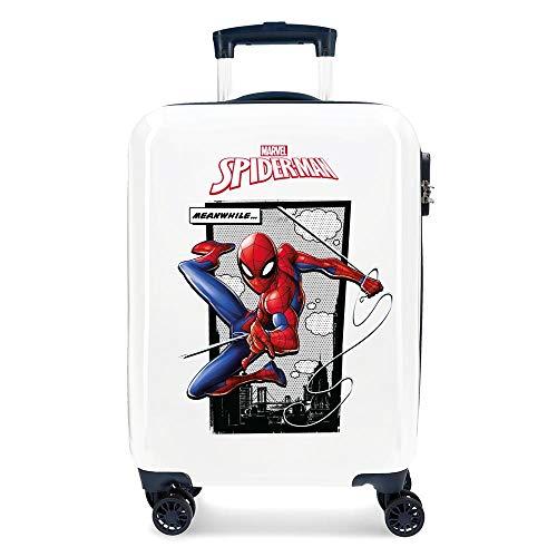 Harde schaal koffer Spiderman Action 55 cm