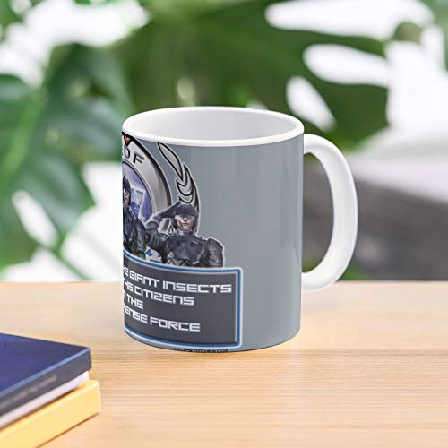 Force Edf Games Earth Giant Defense Aliens Video 4 1 2025 Insects Best 11 Ounce Ceramic Coffee Mug Gift