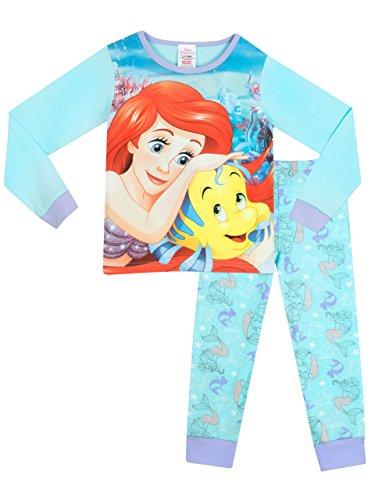Disney The Little Mermaid Mädchen Ariel Die Meerjungfrau Schlafanzug 104cm