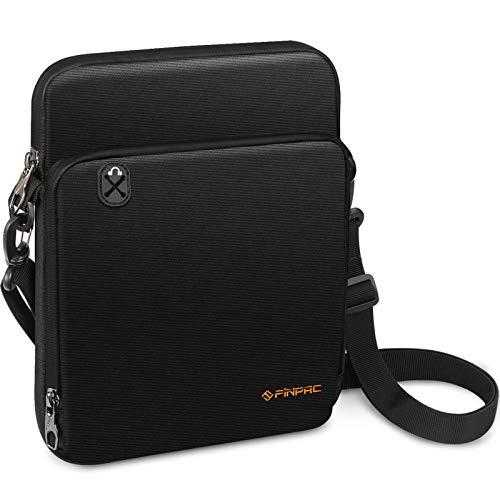 FINPAC 11 Inch Tablet Sleeve Case, Briefcase Shoulder Bag for 10.9' iPad Air 4 2020, 10.2' iPad 2020/2019, 11' iPad Pro 2020/2018, 10.5' iPad Air 3 2019, Microsoft Surface Go 2, Galaxy Tab, Black