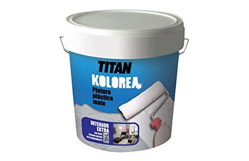 Titan M73386 - Pintura plastica cofac b54 blanca mate interior 25 kg