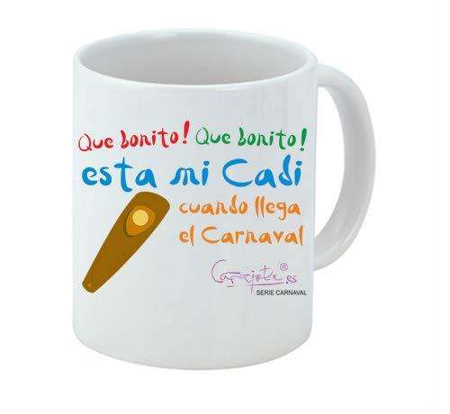 Taza Serie Carnaval Que Bonito