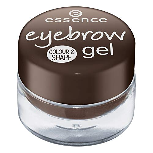 essence - Augenbrauen Gel - eyebrow gel colour & shape 01 - brown