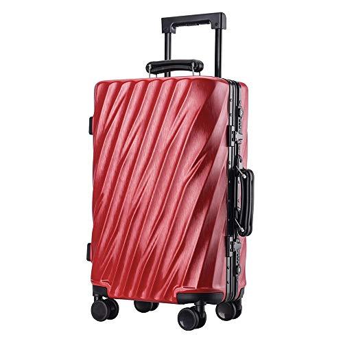KANGJIABAOBAO Trolley Case 20 Inch 24 Inch 26 Inch 29 Inch Draagbare Draagtas Kofferkoffer Aluminium Met TSA Sloten Trolley Koffer Met Spinner Wielen Zakelijke Reistas Kofferset