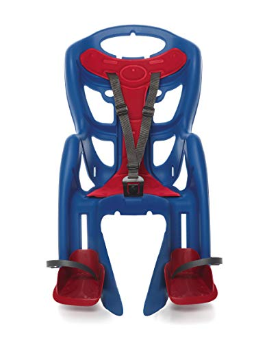 Bellelli Pepe Seatpost Mounted Baby Carrier, Red/Blue