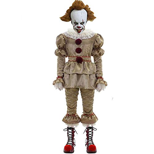 Disfraz de payaso para niños IT Cosplay disfraz para Halloween Party Fancy Dress Dress Ropa 2019