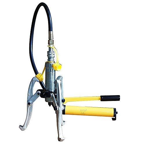 450580 Split Type manuelle hydraulische Presse Flaschenzug Rad 5 Tonnen mit Pumpe