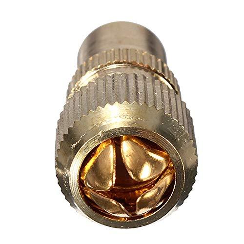 SHIJING EIN TV-Antennenanschluss M plattierten koaxialer HF-Kanal Koaxialstecker