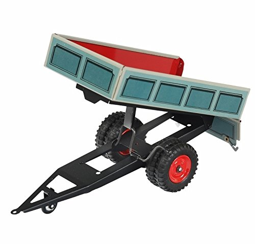Kovap Blechspielzeug - Traktor Anhänger Kipper, blau von KOVAP