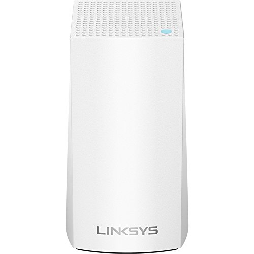Linksys Velop Home Mesh WiFi System - Mesh WiFi Router, Mesh Router for Whole-Home Mesh Network (1-pack, White)