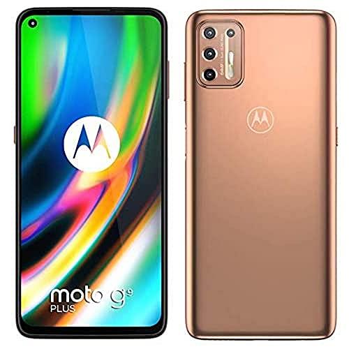 Motorola Moto G9 Plus - Smartphone 128GB, 4GB RAM, Dual Sim, Rose Gol