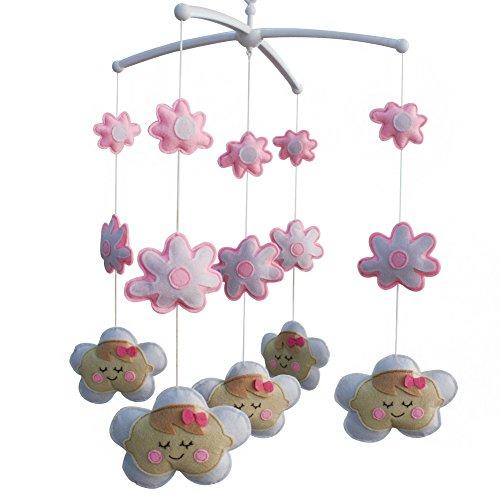 Baby-Kinderbett-Spielzeug, Baby-Musikspielzeug-Kinderbett-Glocke, um Baby einzuschlafen, Puppentyp, A03
