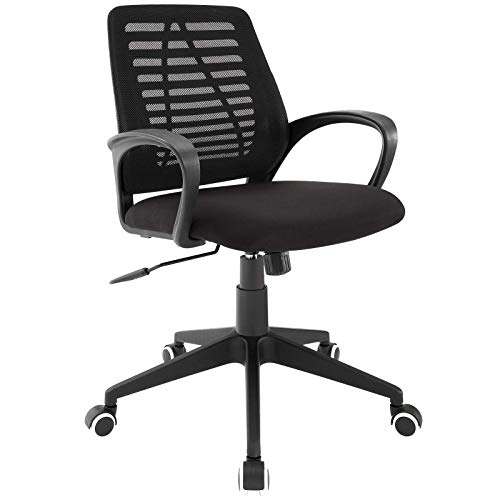 Modway Ardor Mesh Ergonomic Computer Desk Office Chair in Black