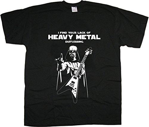 Darth Vader Heavy Thrash Metal Rock Camiseta para Hombre Unisex