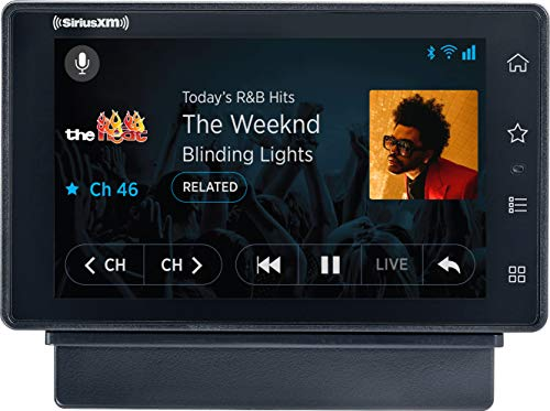 SiriusXM SXWB1AZV1 Tour Radio with 360L and Vehicle Kit–Receive 3 Months Free Service with Subscription–Enjoy SiriusXMThrough Your Car's in-Dash Audio System on This Satellite and Streaming Radio