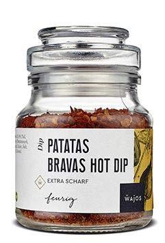 Patatas Bravas Hot Dip die scharfe spanische Gewürzmischung 90g I Wajos Gourmet