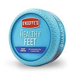 O'Keeffe's for Healthy Feet Foot Cream-One of our recommended products to fix cracked heels