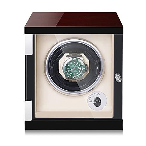 LYLSXY Reloj Winder para Relojes Automáticos Tecnología Métrica, para Relojes Automáticos con Doble Magnetización Anti. (Color : Ebony, Size : 1 epitope)