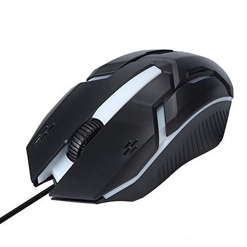 Skxinn Design 1200 DPI USB Wired Optische LED Gaming Maus für PC Laptop