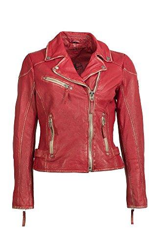 Gipsy Mauritius Damen Lederjacke Bikerjacke Jacket PERFECTO S17 LULV (L)