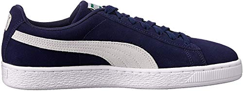 Puma - Suede Classic - Baskets Mode - Mixte Adulte - Bleu (Peacoat/White 51) - 39 EU