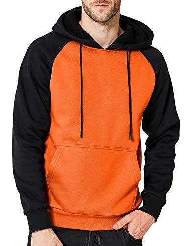 Orange Sweater Men
