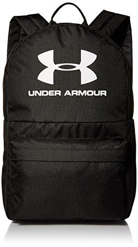 Under Armour Sportstyle Backpack, Zaino Unisex-Adulto, Nero (002)/Bianco, Taglia Unica