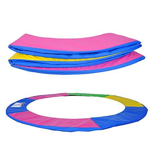 ULTRAPOWER SPORTS Federabdeckung Randschutz Randabdeckung für Trampolin 244cm – 6Stangen Rahmenpolsterung Bunt PVC - UV beständig