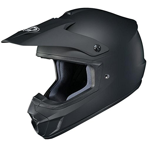 HJC CS-MX II Motorcycle Riding Helmet (Matte Black, XXX-Large)