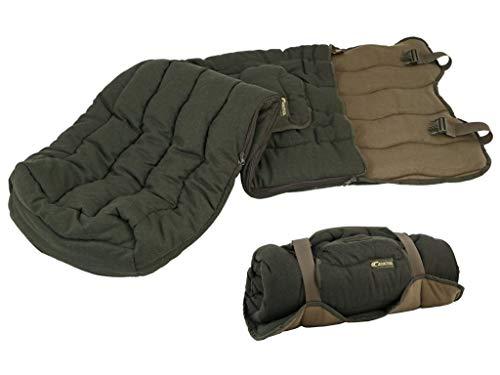 Carinthia Loden - Saco de dormir para caza (silencioso, con bolsillo para manos), color verde oscuro