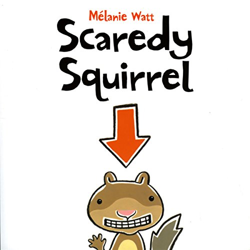 Scaredy Squirrel cover art