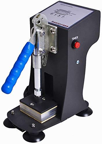 TTLIFE Rosin Presse 2x3 inch Kolophonium Press Dual-Heizplatten 1000lbs maximalem Druck Kolophonium Press für Kolophoniumpresse 220V Herstellung von Kolophonium (3g jedes Mal),LCD-Bedienfeld