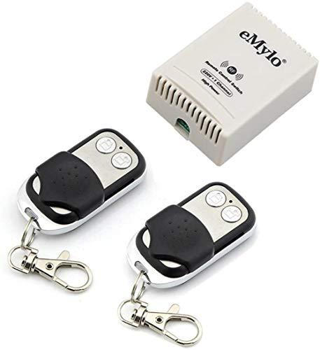 AC 220V-230V-240V 3000 W 30 A 1 433 MHz canal RF inalámbrico transmisor relé contactor exterior con el receptor