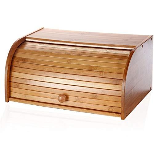 Bambus-Holz Brotkorb (27x40x16.5 cm)
