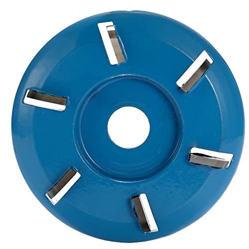 16mm Cutter Dia High Speed Steel Straight Shank 4 Flute Wave Edge Milling Cutter