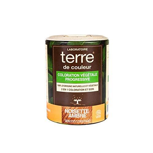 Terre de Couleur Coloration Végétale Noisette Ambré 100 g