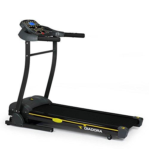 Diadora Fitness Greenfit Exess 300 Tapis Roulant Elettrico, Nero