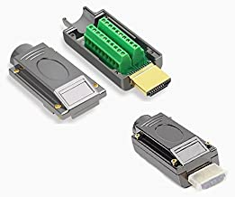 EZSync HDMI to Terminal Block Adapter Kit, 2X Pack, Solderless Breakout Board, Steel, EZSync913