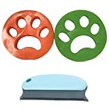 GSA Pet Hair Remover for Laundry Catcher Dogs Cats Hair Catcher for Washing Machine and Pet Hair Cleaning Remover Brush for Couch, Carpet, Clothing, Blankets, Car, Bed(2pack)