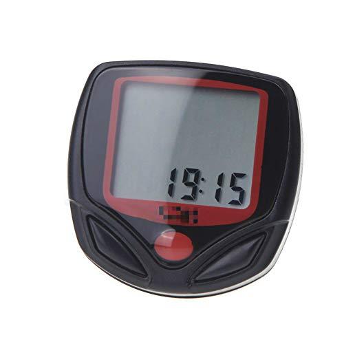 HXiaDyG - Velocímetro para bicicleta con cable de 14 funciones, pantalla LCD,...