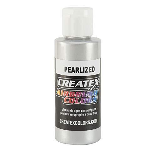 Airbrush Paint - Createx Airbrush Colors - 5308 Pearl Silver (120ml | 4oz)