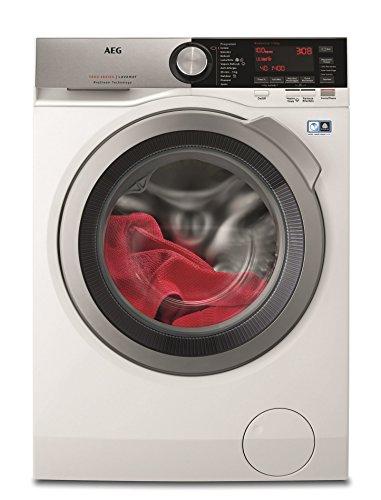 AEG L7FEC146 lavatrice Libera installazione Caricamento frontale Grigio, Bianco 10 kg 1400 Giri min A+++-30%