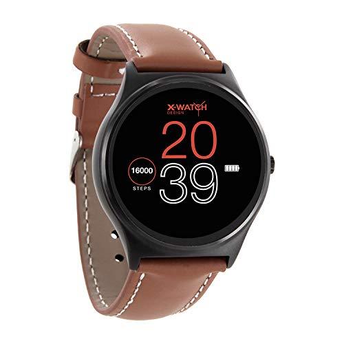 XLYNE QIN XW PRIME II ultra slim Android und iOS Smartwatch premium elegant – Herren und Jugendliche Smartwatch – Bluetooth Smartwatch Whatsapp, Facebook