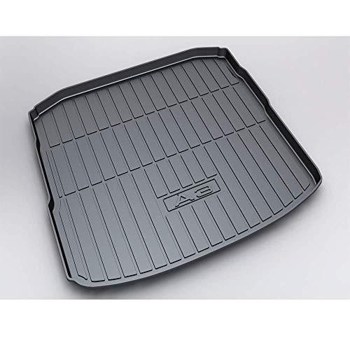 Vehículo de línea de carga trasera, Tronco bandeja de suelo Hoja de alfombra de la estera de la bandeja de equipaje impermeable for Au - di Q7 2016 2017 2018 2019 (Size : Audi Sedan A3 2014-2019)