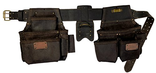 OX Tool Four Piece Construction Rig , Leather Tool Belt & Pouches