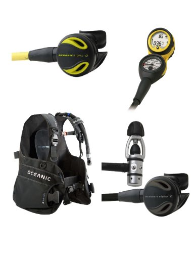 Oceanic Price-Buster Scuba Package, Regulator, BC, Octo, Computer, Diving Package, Diving Set, Scuba Set, XL