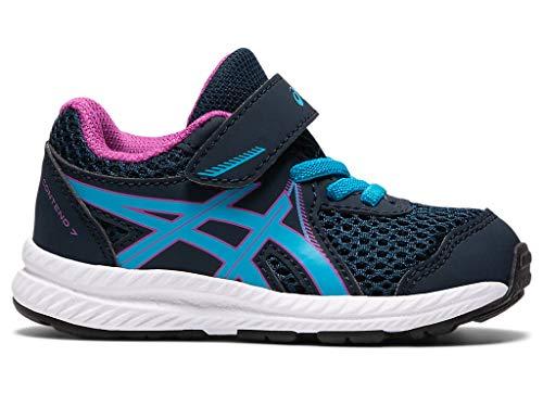 ASICS Kid's Contend 7 TS Running Shoes, K9, French Blue/Digital Aqua